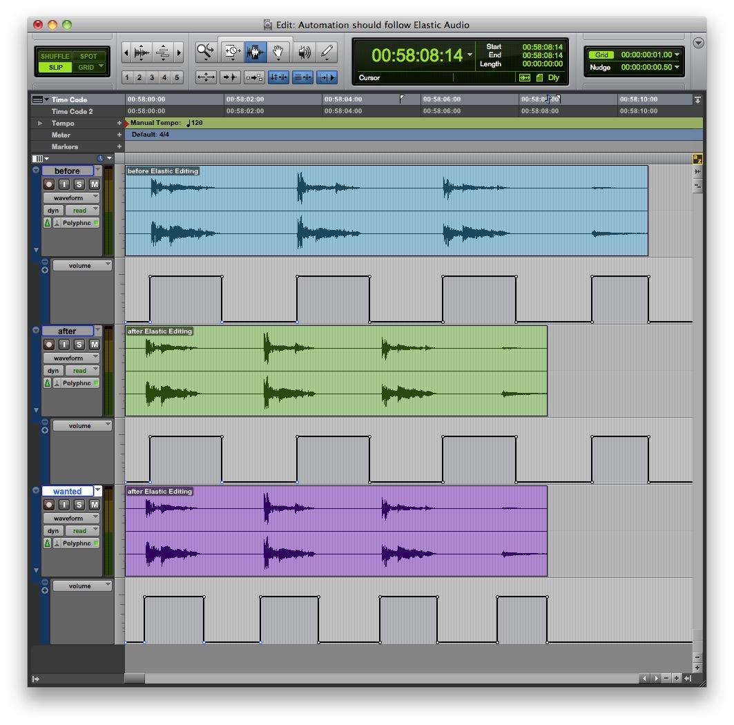 Skalierung von Audio und
