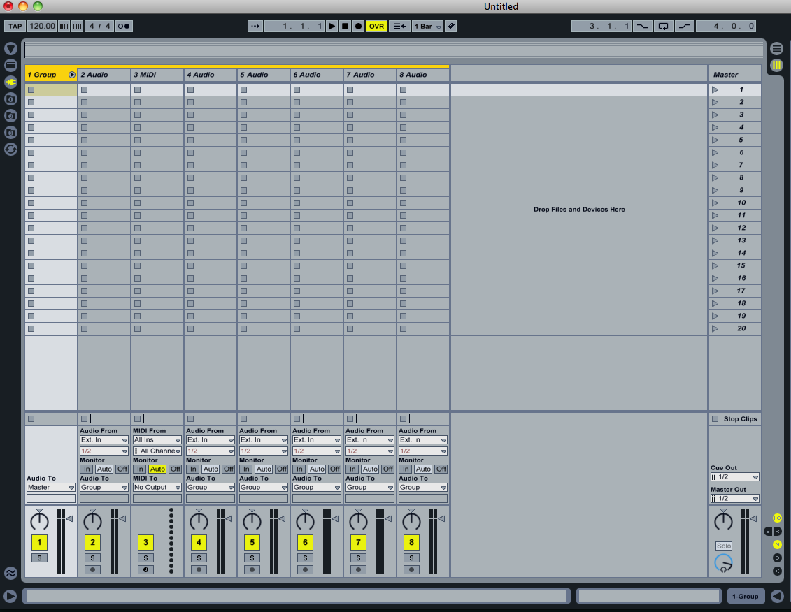 People have sessions of 100 tracks +, folders in the mix window would be nice too. 